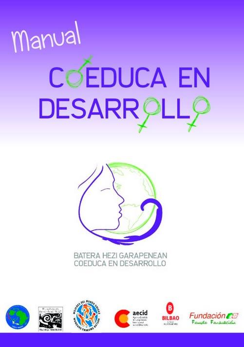 """Manual Proyecto """"Coeduca en Desarrollo"""": Educación para el Desarrollo desde la Perspectiva de Género en Centros Educativos"""