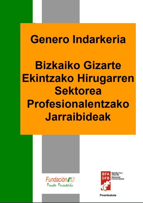 Genero-indarkeria, Bizkaiko esku-hartze sozialeko hirugarren sektoreko profesionalentzako jarraibideak